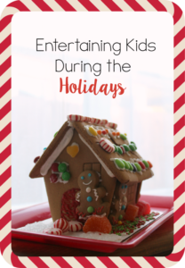 entertaining kids during the holidays // Life Anchored AD