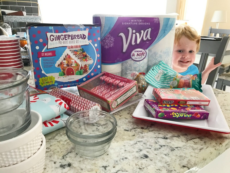Gingerbread House Building with Kids // Life Anchored AD