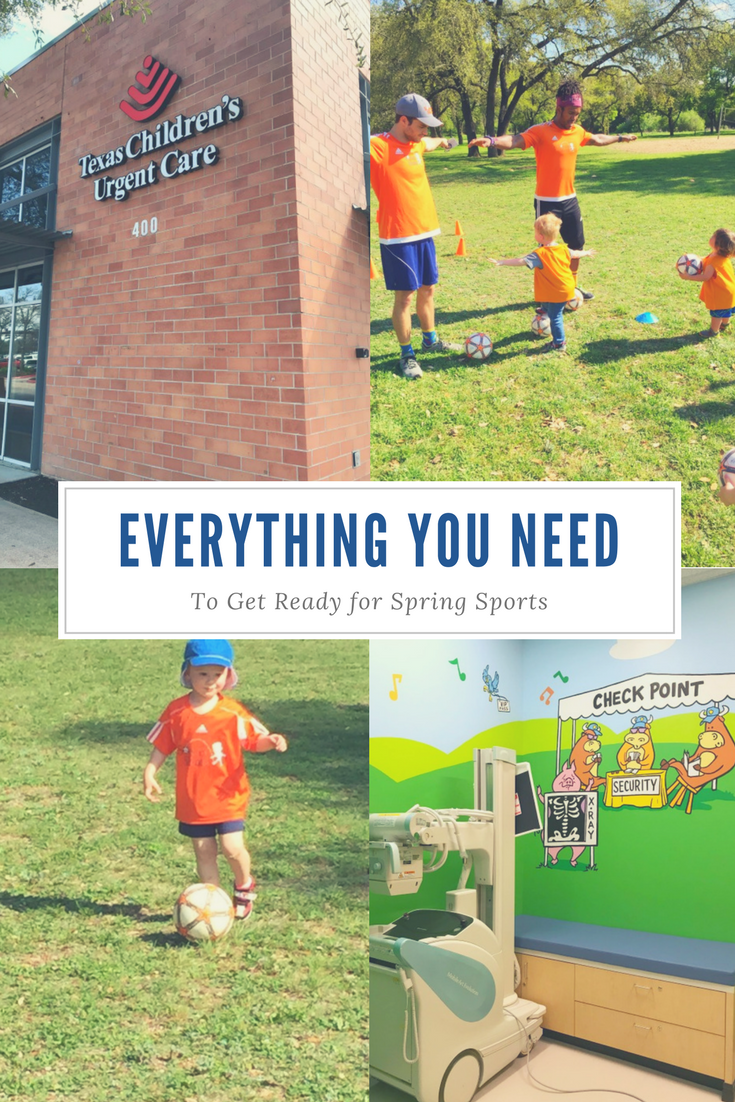 Everything You Need to Get Ready for Spring Sports // Life Anchored AD