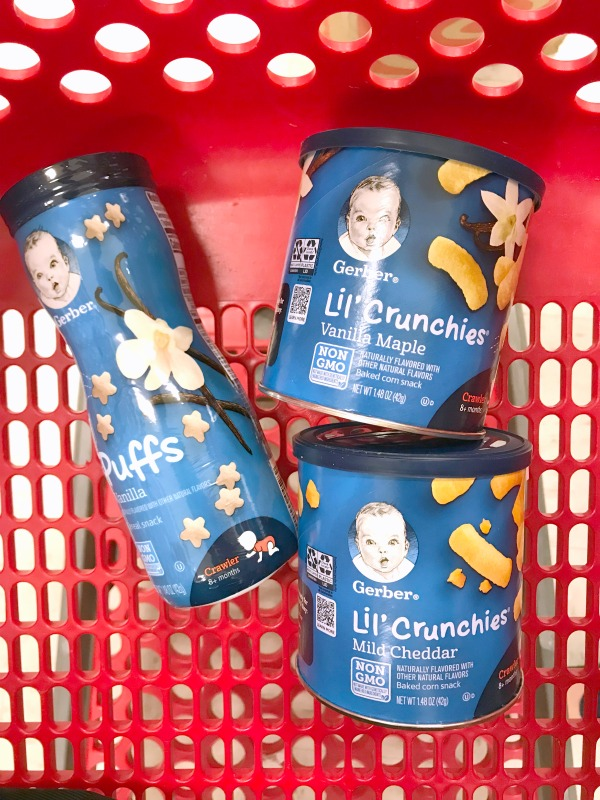 Favorite Baby Snacks On the Go // Life Anchored AD