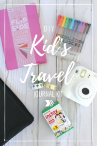 DIY Kid's Travel Journal Kit