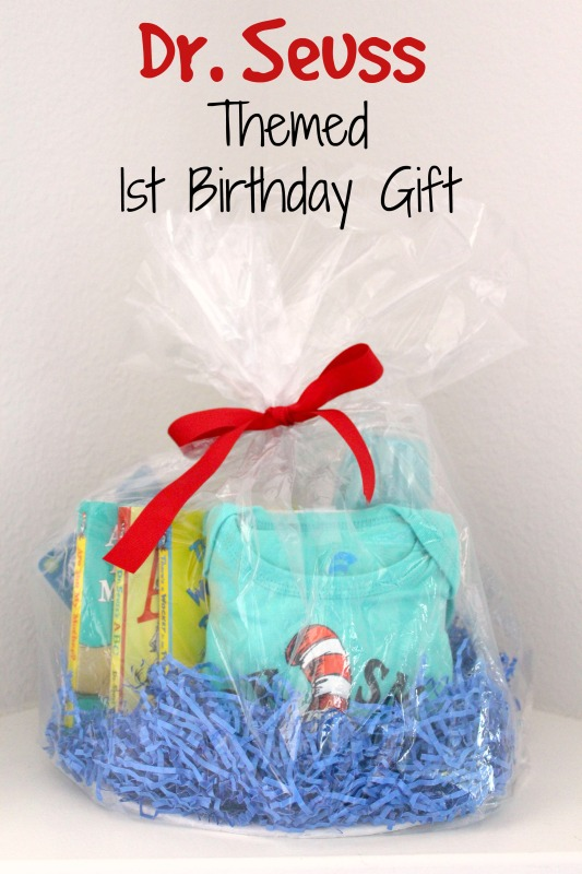 Dr Seuss 1st Birthday gift // Life Anchored