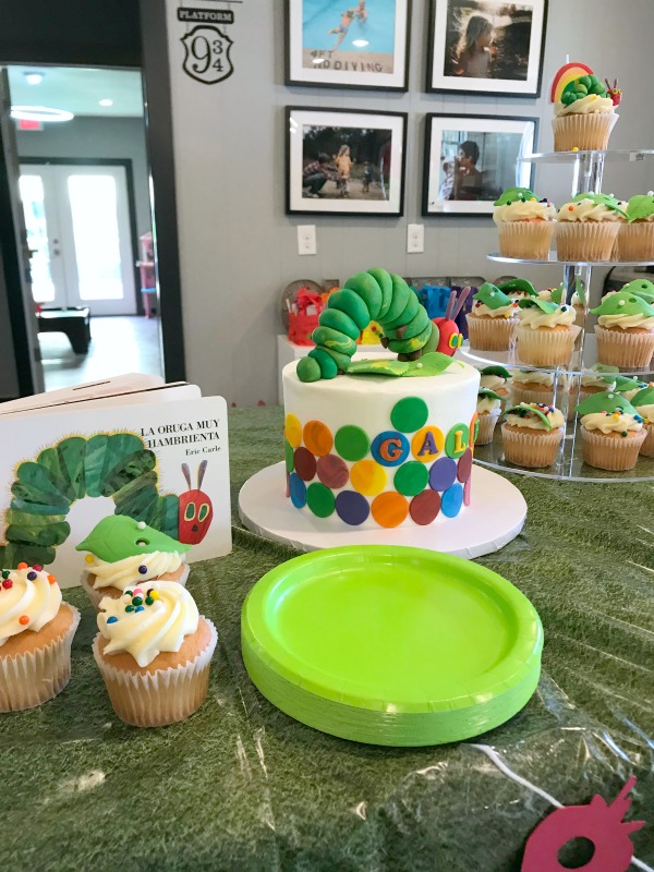 Eric Carle Hungry Caterpillar Party