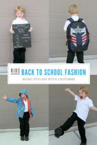 Back to School Fashion Being Stylish with Uniforms // Life Anchored AD