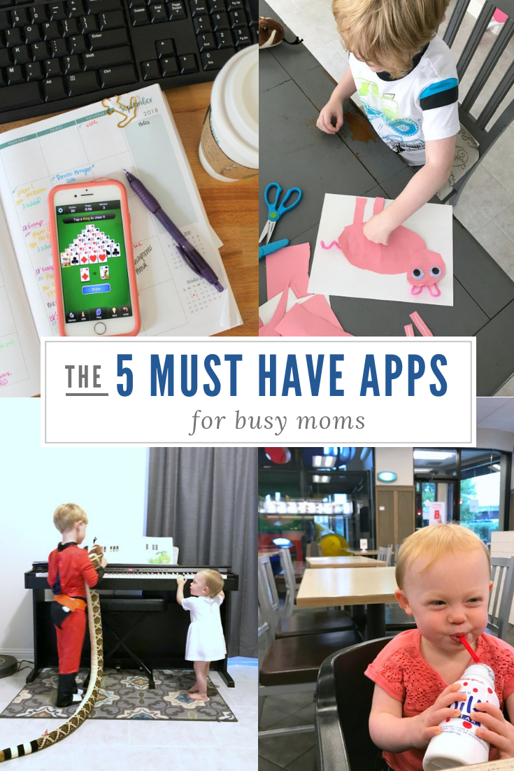 5 Must Have Apps for Moms // Life Anchored AD