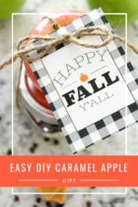 Easy DIY Caramel Apple Gift // Life Anchored