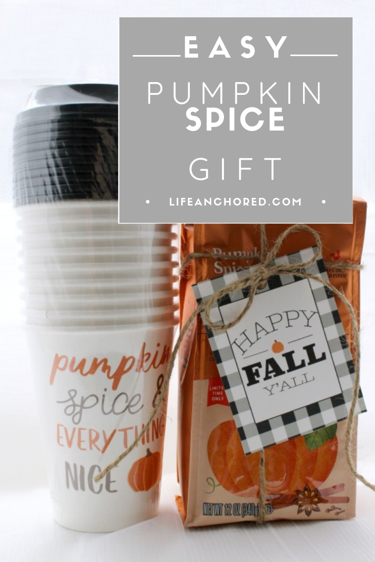 Easy Pumpkin Spice Gift // Life Anchored