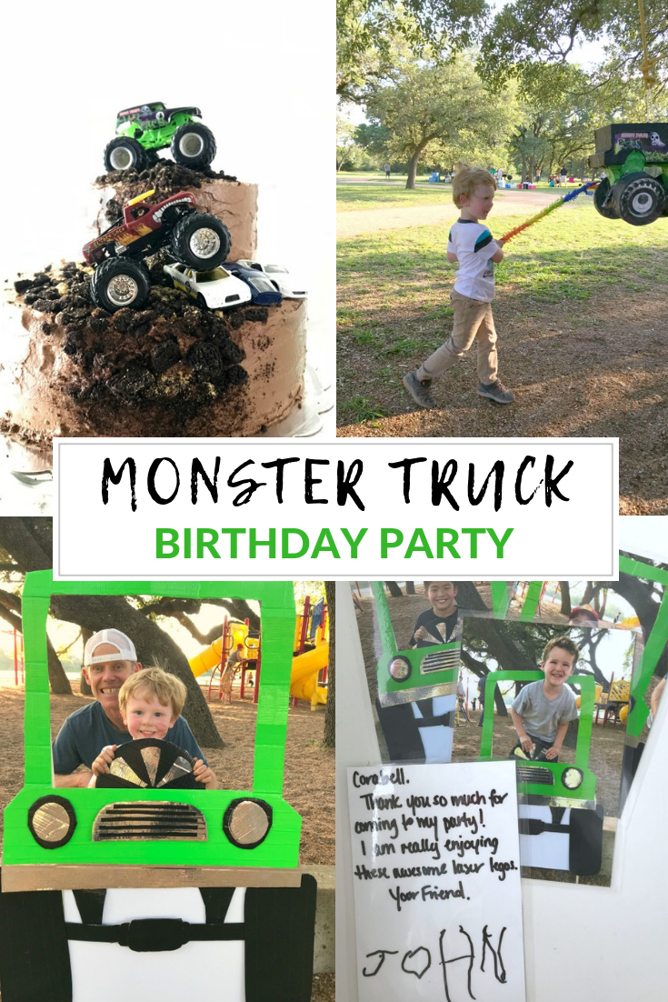 Monster Truck Birthday Party // Life Anchored