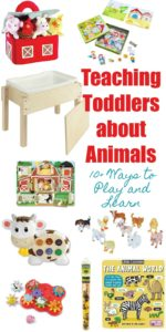 Teaching Toddlers about Animals 10+ Ways to play and learn // Life Anchored