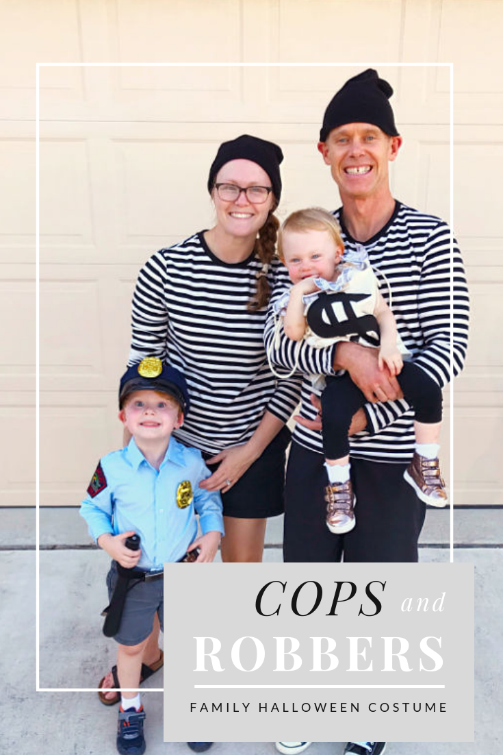 Cops And Robbers Family Halloween Costume Diy Life Anchored