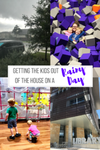 3 Ways to get your kids out of the house on a rainy day // Life Anchored AD