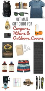 Ultimate Gift Guide for Campers, Hikers and Outdoors Lovers // Life Anchored