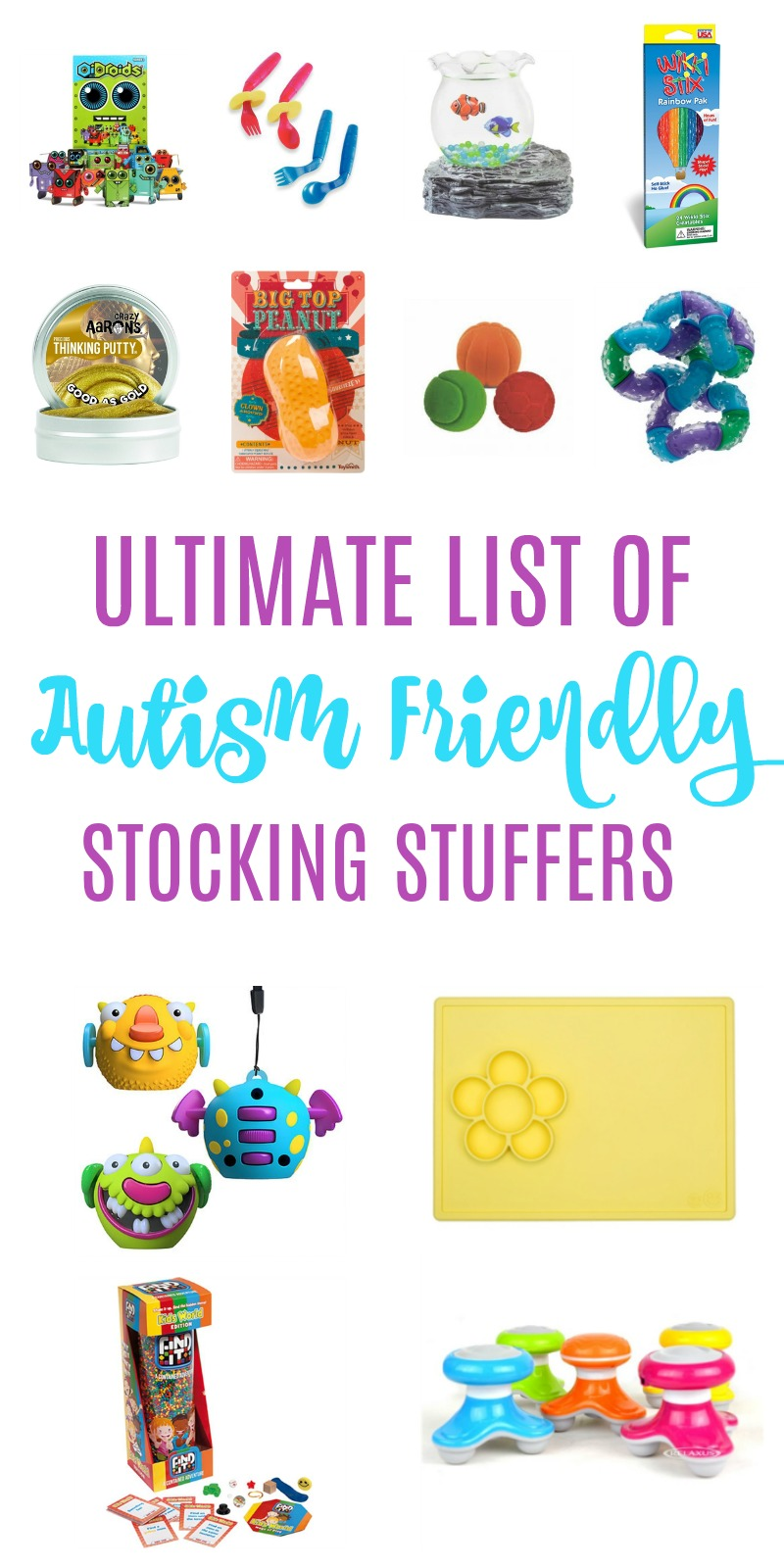 ultimate list of autism friendly stocking stuffers // Life Anchored AD