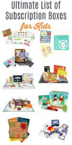 Ultimate List of Subscription Boxes for Kids