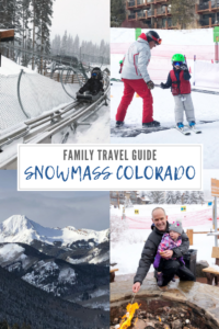 Snowmass Colorado with Kids // Life Anchored AD