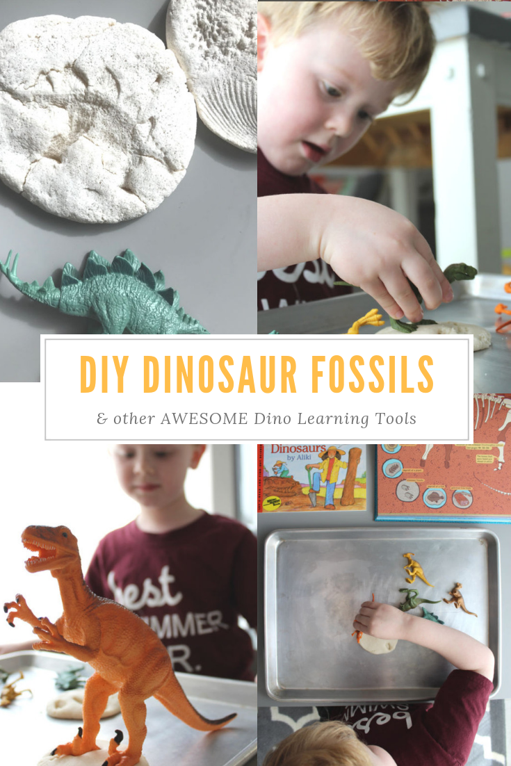 How to Make DIY Dinosaur Fossils // Life Anchored