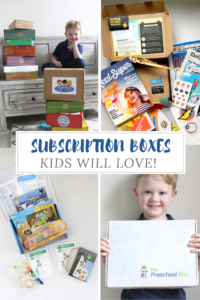 SUBSCRIPTION BOXES KIDS WANT: EDUCATIONAL & CREATIVE // Life Anchored