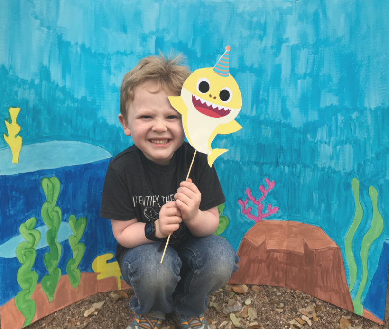 Baby Shark Birthday Party // Life Anchored