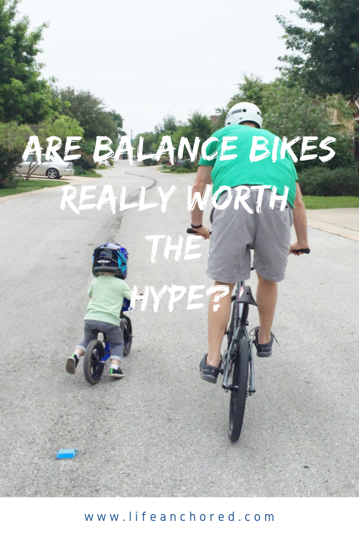 Are Balance Bikes Worth the Hype // Life Anchored