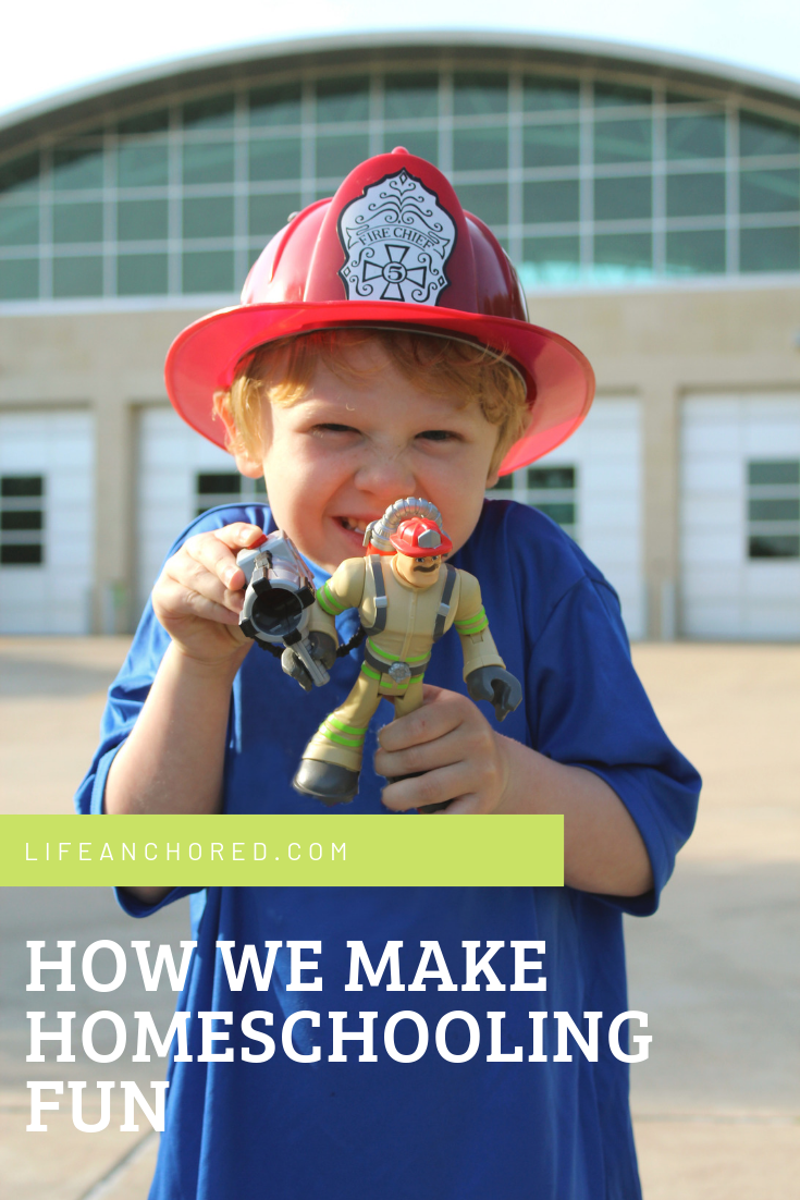 How We Make Homeschooling Fun // Life Anchored AD