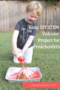 Easy DIY Volcano Project //Life Anchored AD