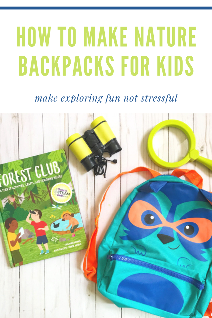 How to Make Nature Backpacks for Kids // Life Anchored
