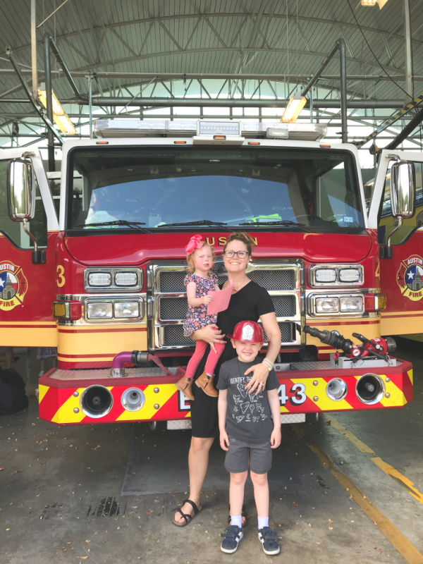 Teaching kids about fire safety // Life Anchored AD