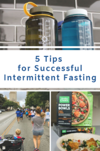 5 Tips for Successful Intermittent Fasting // Life Anchored #ad