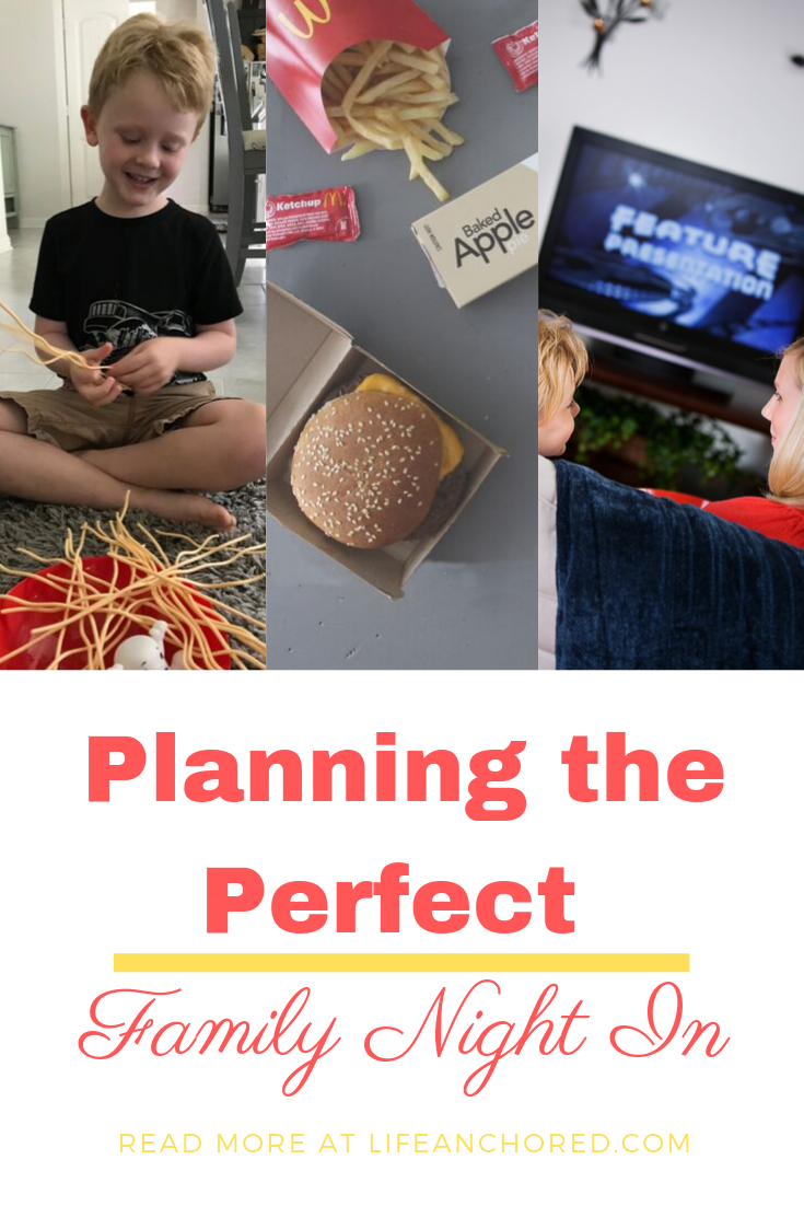 Planning the Perfect Family Night In // Life Anchored AD