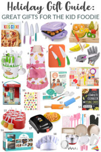 Gifts for the Kid Foodie // Life Anchored