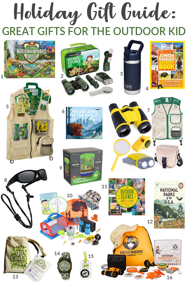 Great Gifts for the Outdoor Kid //Life Anchored