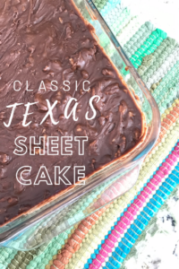 Classic Texas Sheet Cake // Life Anchored