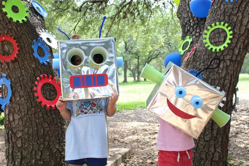 Ultimate DIY Robot Birthday Party // Life Anchored