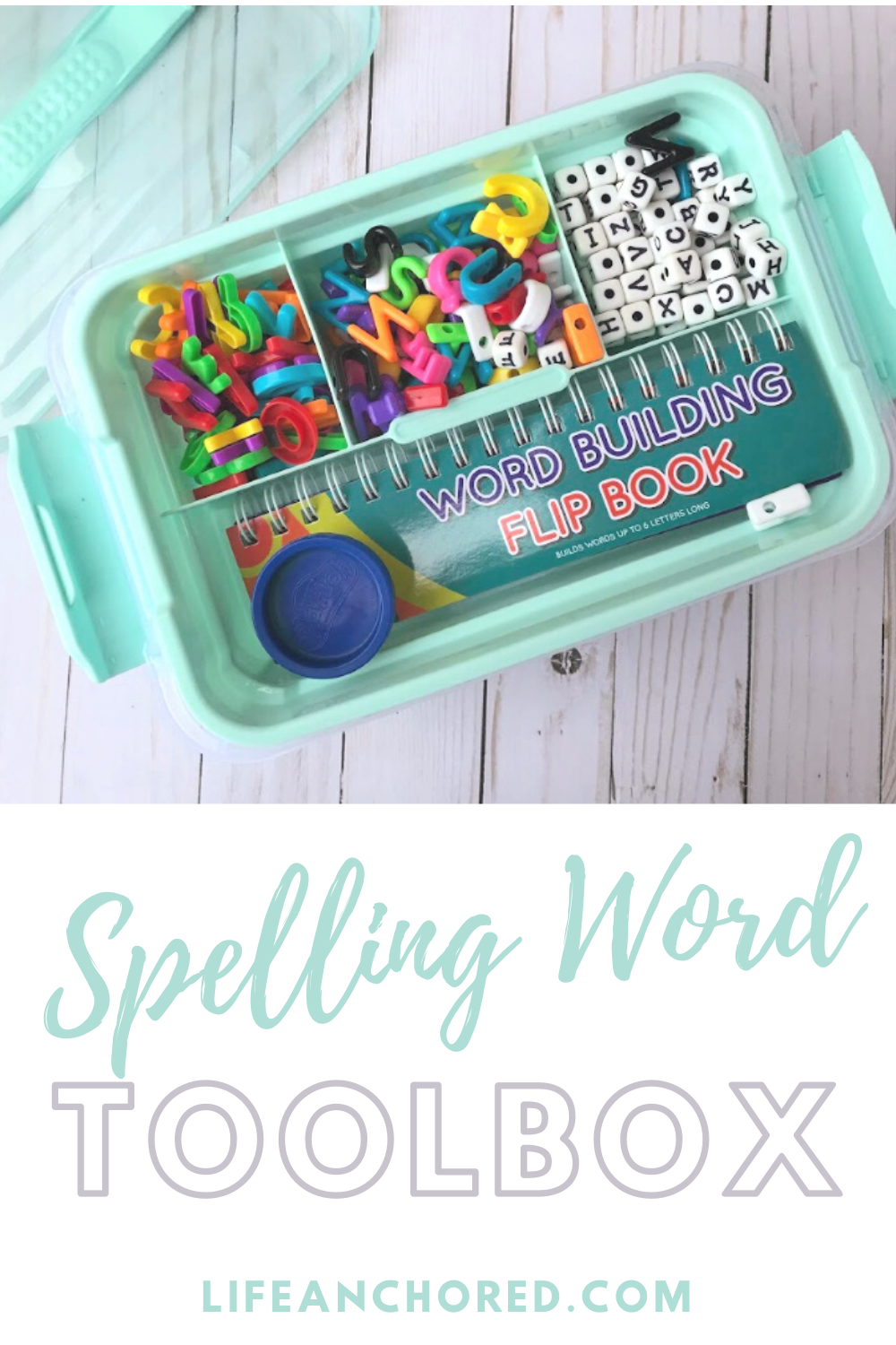 Spelling Word Toolbox // Life Anchored
