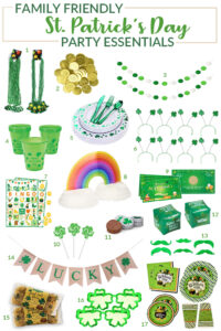 St Patrick's Day Party Essentials