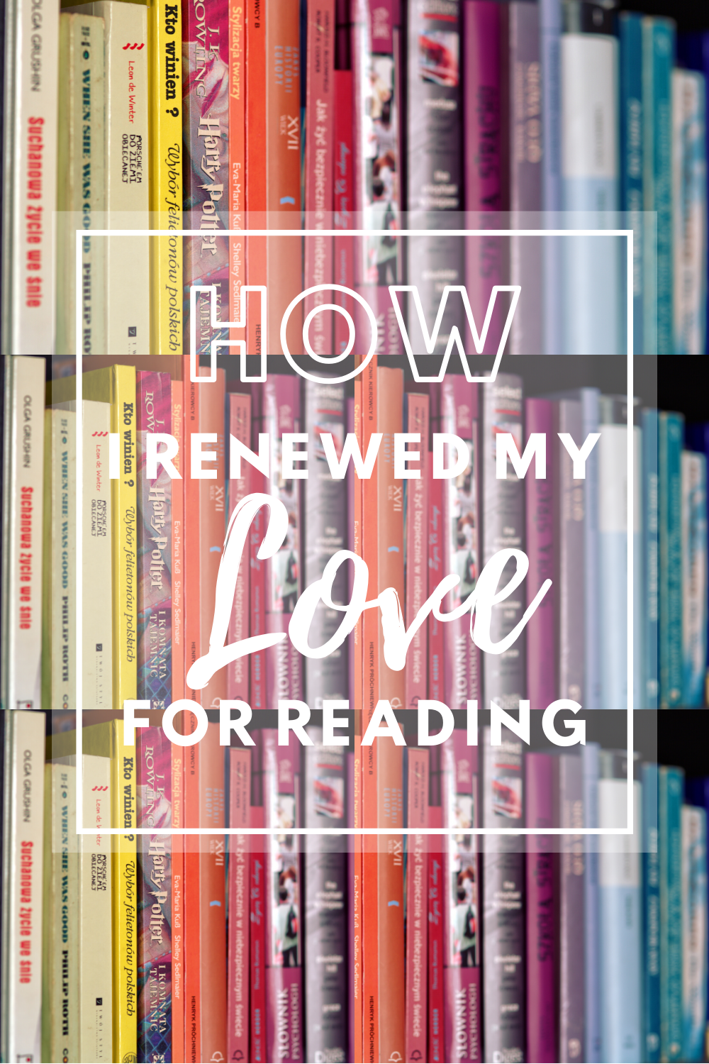 How I renewed my love for reading + Free audiobooks