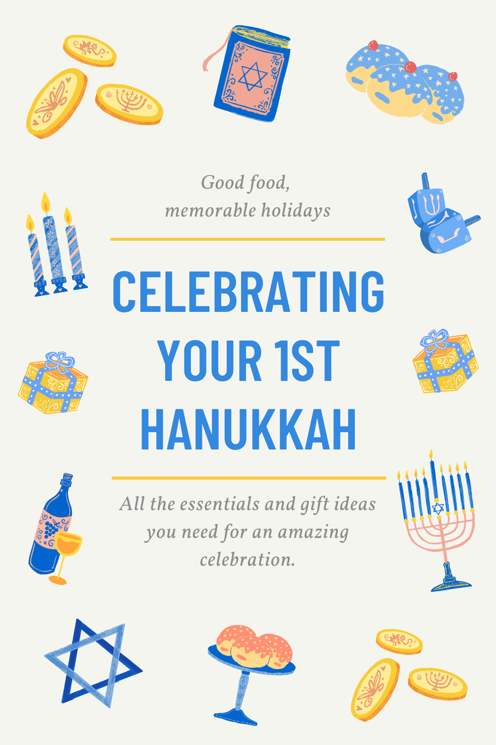 Our first Hanukkah essentials and gifts