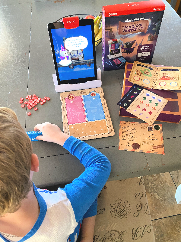 Making Math Magical with Osmo // Life Anchored AD